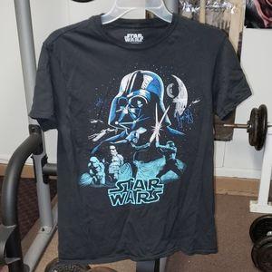 Fifth Sun Star Wars jrs size medium black tshirt